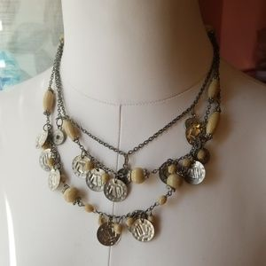 Jewelry - EUC coin necklace